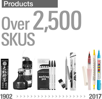 Products Over 2,500 SKUS