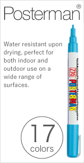 Posterman® waterproof 23colors